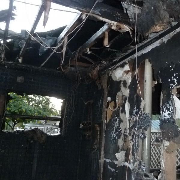 fire damage claim west palm beach