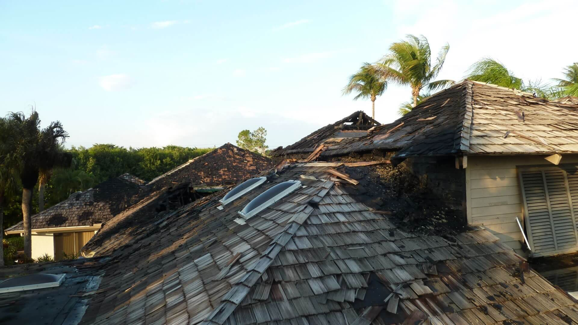 fire damage delray beach
