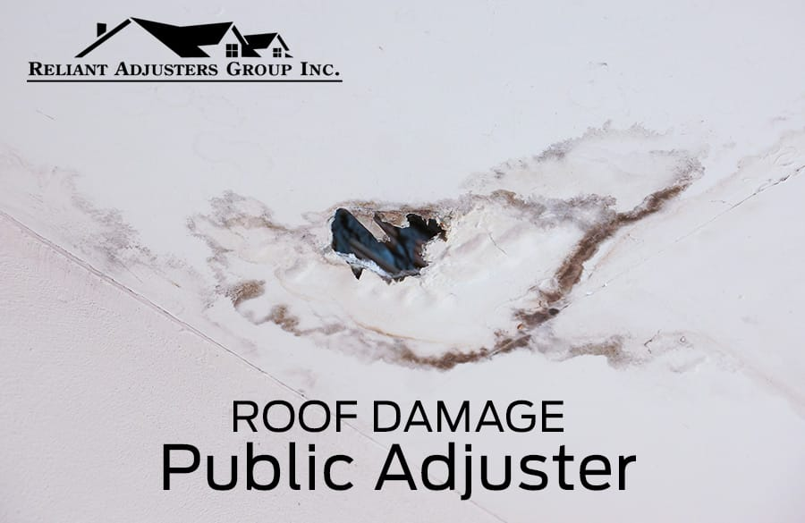 Roof Damage Public Adjuster